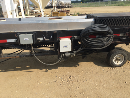 Desna Installation - Portable Belt-Way (SVS) Conveyor Scale - TR TRUCKING, Rimbey, AB